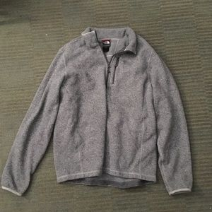 The North Face pull over sweater
